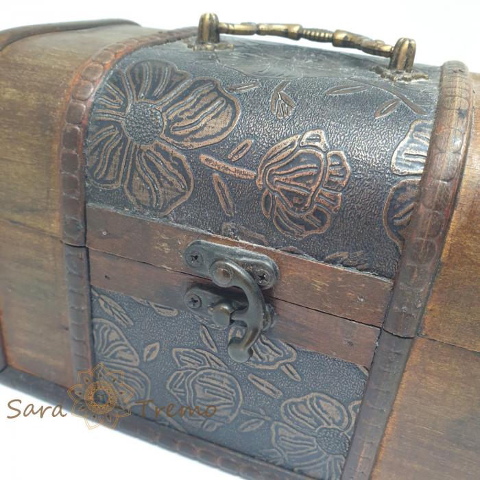 Cufar din lemn pentru bijuterii si alte amintiri [2]