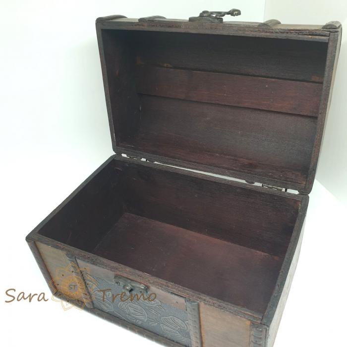 Cufar din lemn pentru bijuterii si alte amintiri [1]