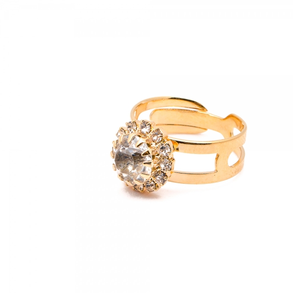 Inel placat cu aur 18 K Rock & Shine 0