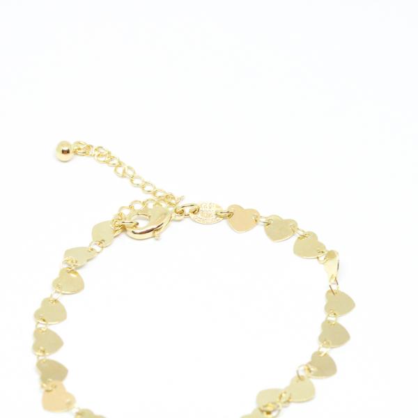 Bratara tip salba pentru femei placata cu aur 19-24 cm Urgency 2