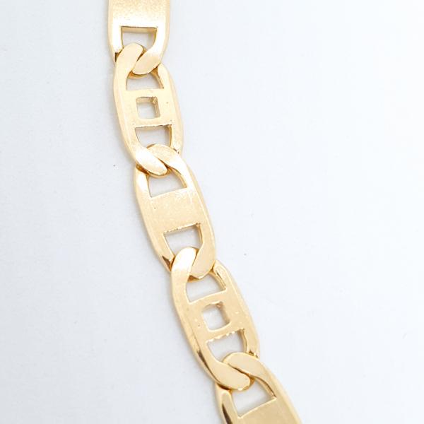 Bratara barbateasca placata cu aur SaraTremo 3