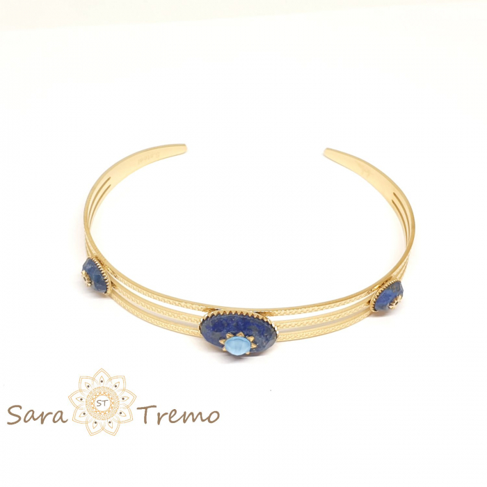 Bratara cu pietre naturale Lapis Lazuli [1]