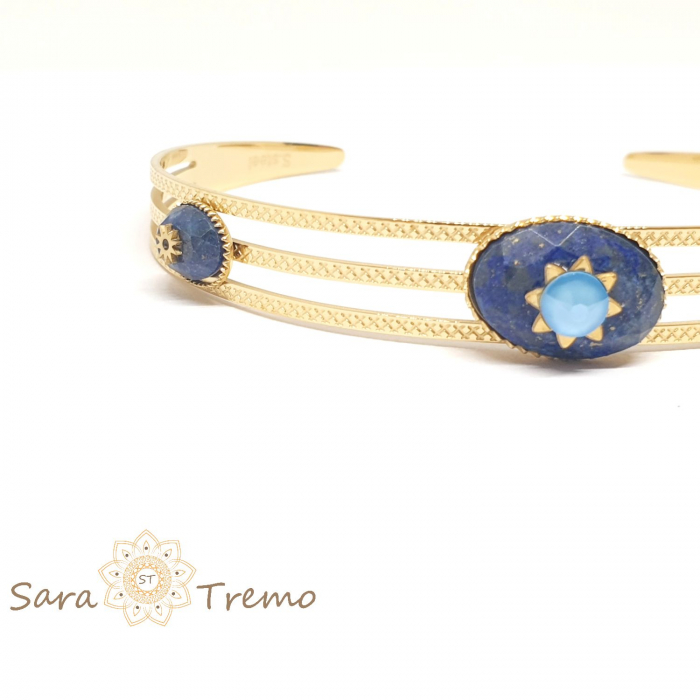 Bratara cu pietre naturale Lapis Lazuli [3]