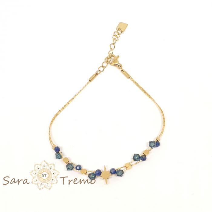 Bratara cu pietre naturale Lapis Lazuli [0]