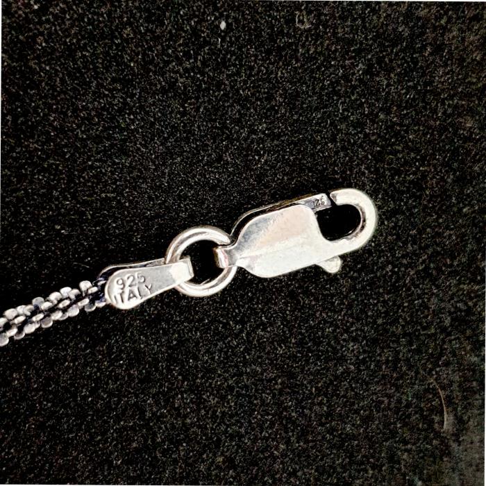 Bratara din argint impletita cu rodiu Chance [5]