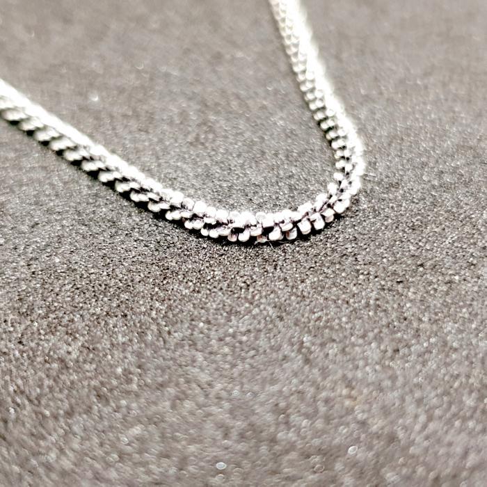 Bratara din argint impletita cu rodiu Chance [2]