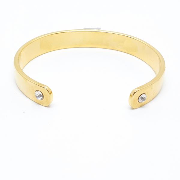 Bratara fixa placata cu aur SaraTremo 5