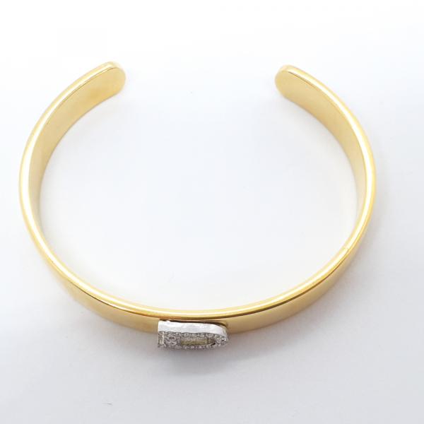 Bratara fixa placata cu aur SaraTremo 1