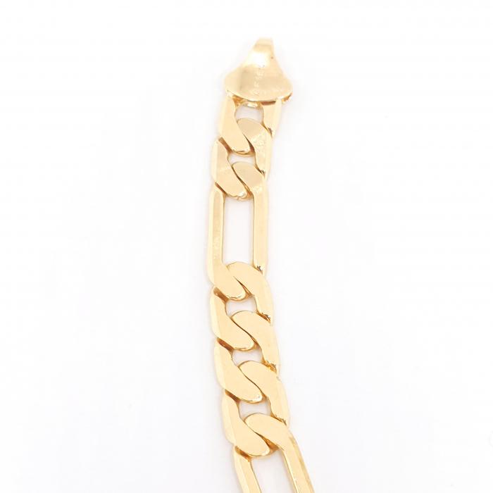 Bratara lata pentru barbati placata cu aur 22 cm Kester Mehr 1