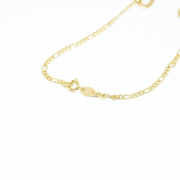 Bratara pentru glezna placata cu aur 25 cm Integrated 4
