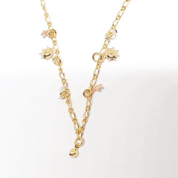 Bratara pentru glezna placata cu aur Cupio 1