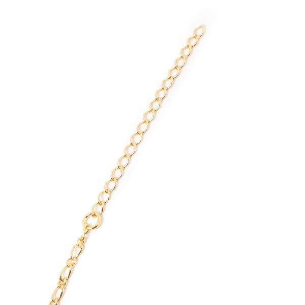Bratara pentru glezna placata cu aur Cupio [6]