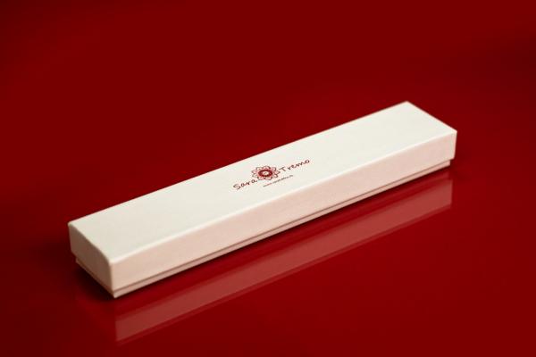 Bratara pentru glezna placata cu aur 25-30 cm Techno 4