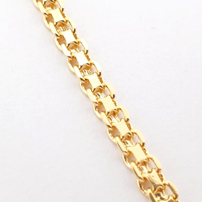 Bratara de picior luxury placata cu aur 25 cm Flow of Love [2]