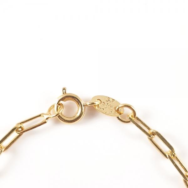 Bratara placata cu aur SaraTremo 4
