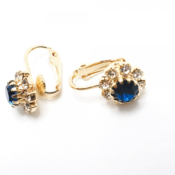 Cercei tip clipsuri placati cu aur Isabelle [2]