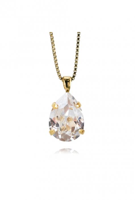 Colier cu cristal Swarovski dublu-placat cu aur Caroline S. [0]