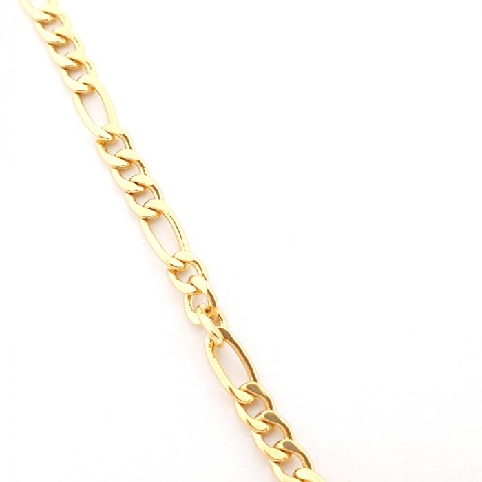 Colier placat cu aur 45 cm Seattle 3