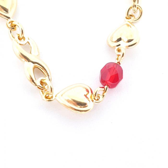 Colier placat cu aur Nomine del Rosa 6