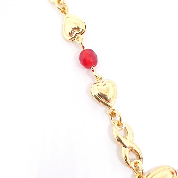 Colier placat cu aur Nomine del Rosa 1