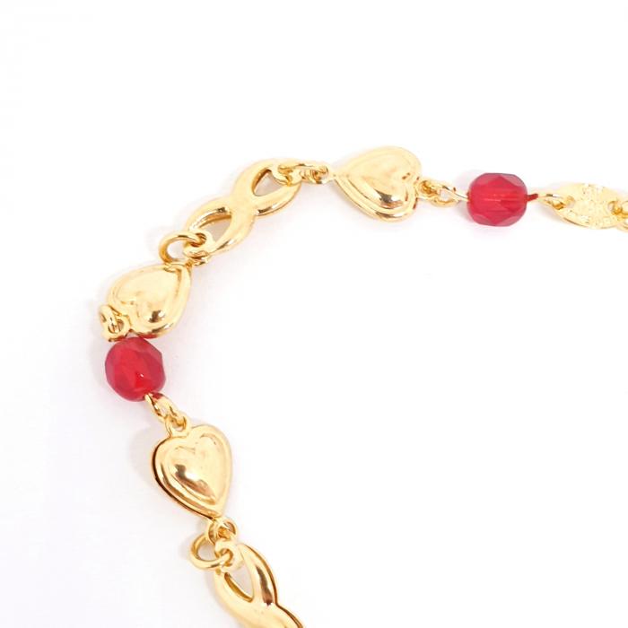 Colier placat cu aur Nomine del Rosa 2