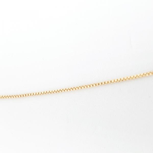 Colier cu inimioara placat cu aur SaraTremo 4