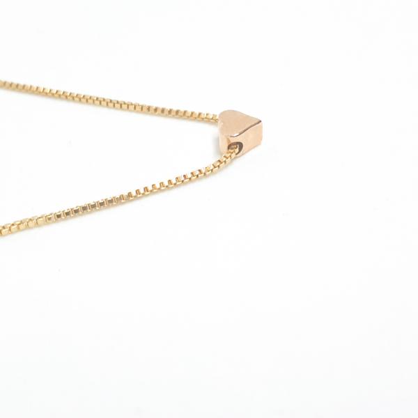 Colier cu inimioara placat cu aur SaraTremo 3