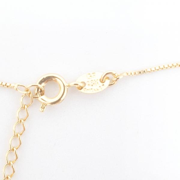 Colier cu inimioara placat cu aur SaraTremo 5