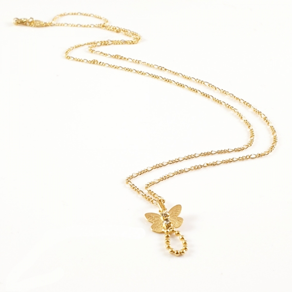 Colier placat cu aur SaraTremo 3