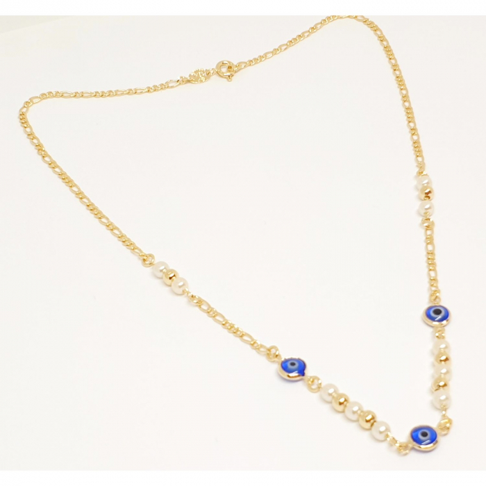 Colier placat cu aur SaraTremo [6]