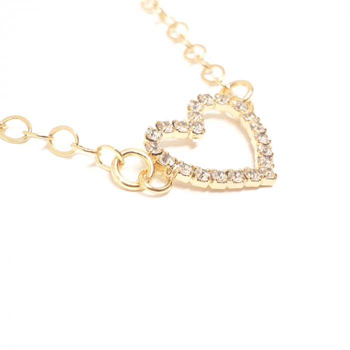 Colier placat cu aur SaraTremo [0]