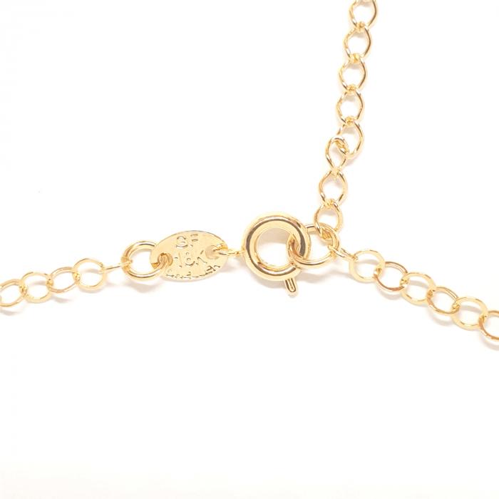 Colier placat cu aur SaraTremo [5]