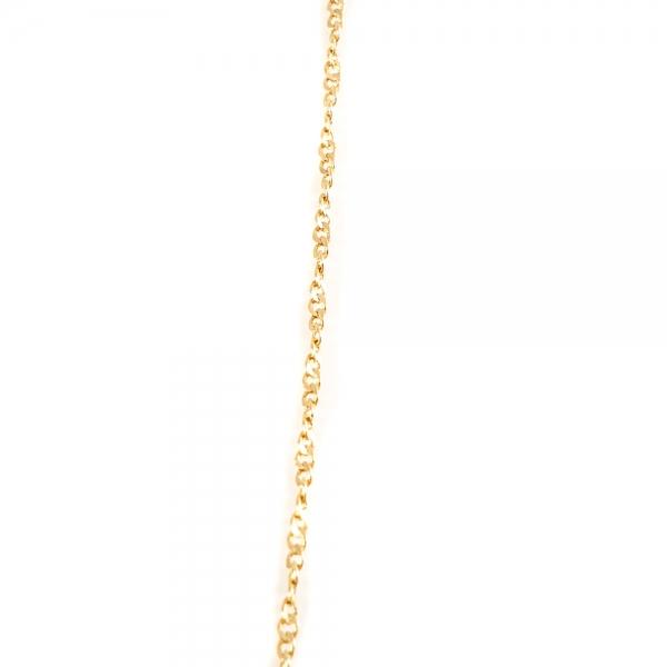 Colier zodia Pesti placat cu aur SaraTremo 5