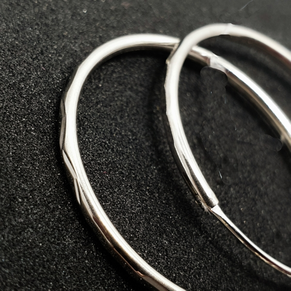 Cercei rotunzi argint SaraTremo 2