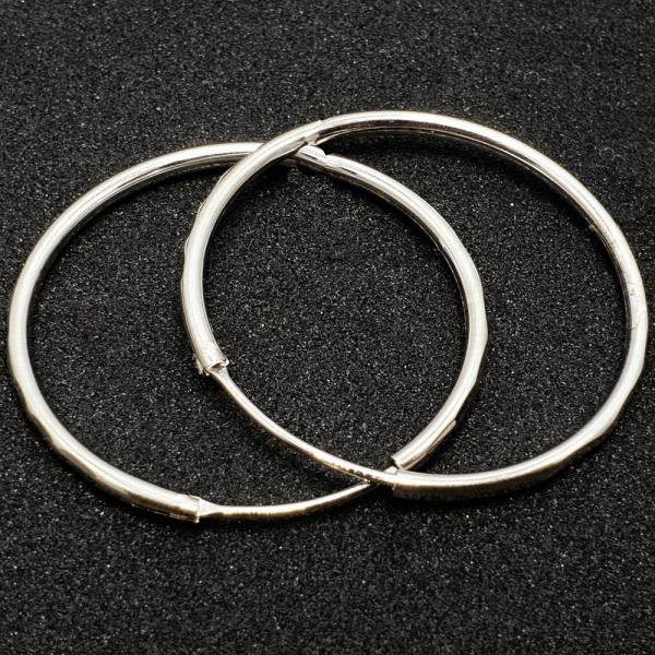Cercei rotunzi argint SaraTremo 0