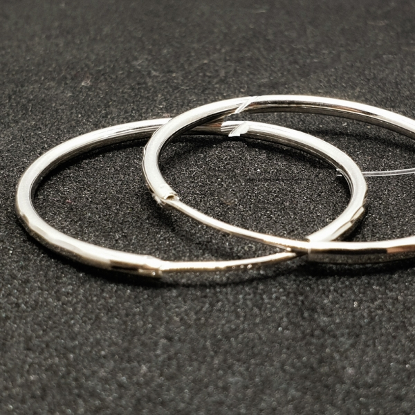 Cercei rotunzi argint SaraTremo 1