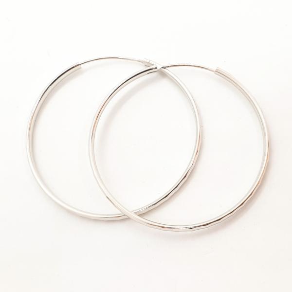 Cercei rotunzi argint SaraTremo [6]
