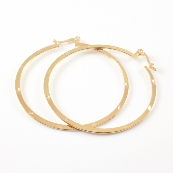 Cercei placati cu aur SaraTremo 1
