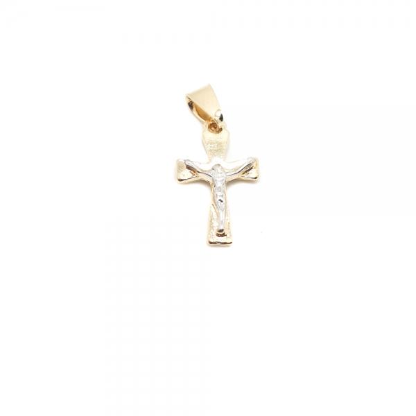 Cruciulita placata cu aur SaraTremo 0