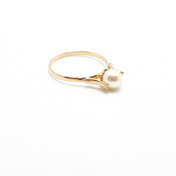 Inel placat cu aur SaraTremo 2