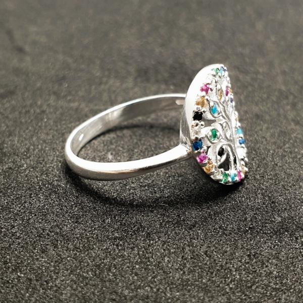 Inel argint SaraTremo 8