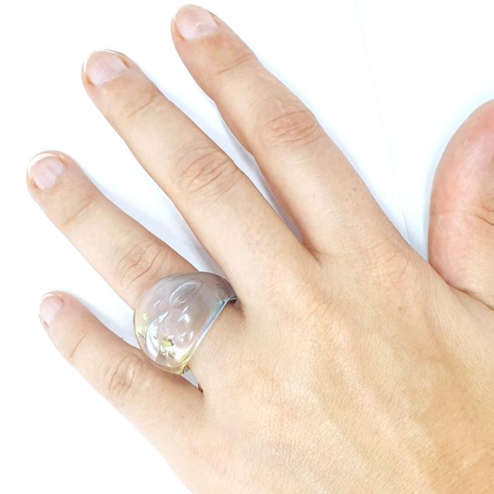 Inel cu sticla de Murano SaraTremo [4]