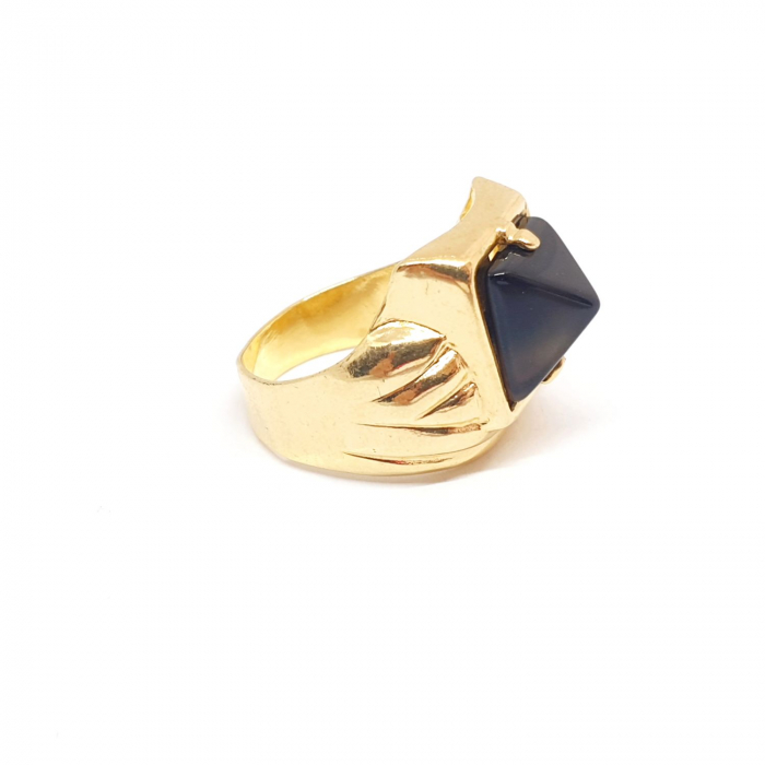 Inel placat cu aur SaraTremo [1]