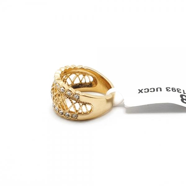 Inel placat cu aur SaraTremo 4