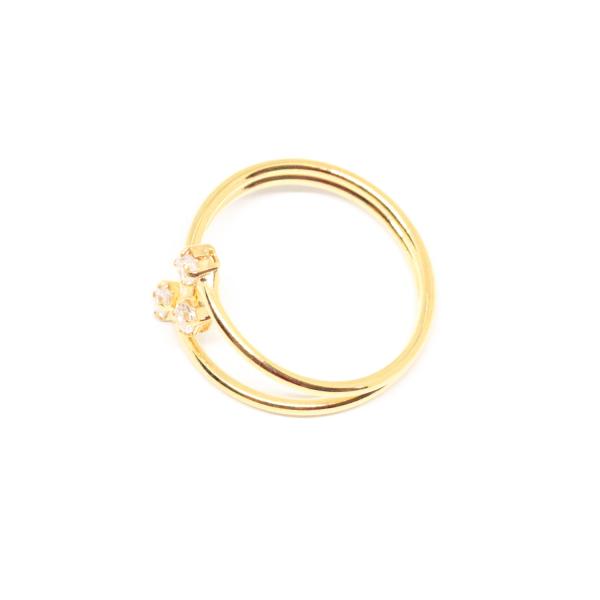 Inel placat cu aur Consular 1