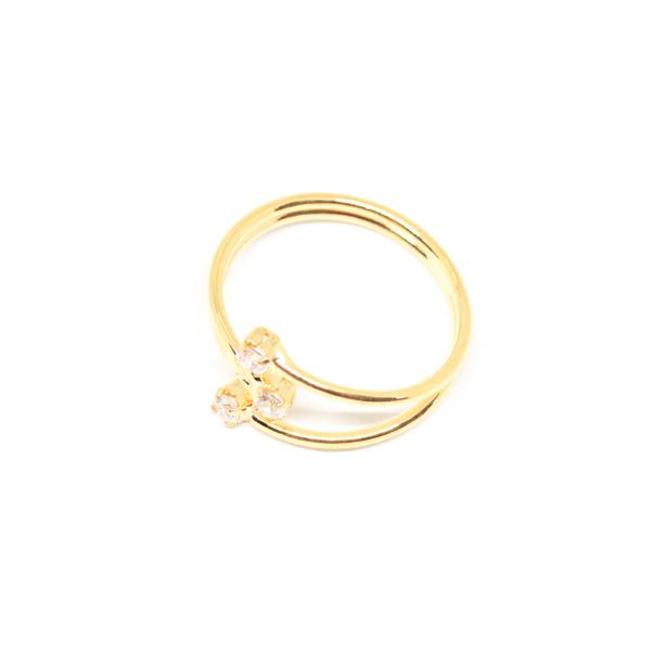 Inel placat cu aur Consular 0