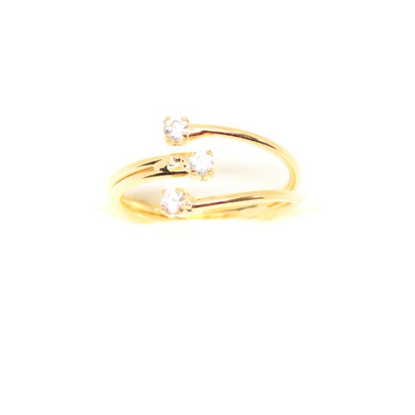 Inel placat cu aur Consular 3