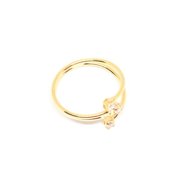 Inel placat cu aur Consular 2