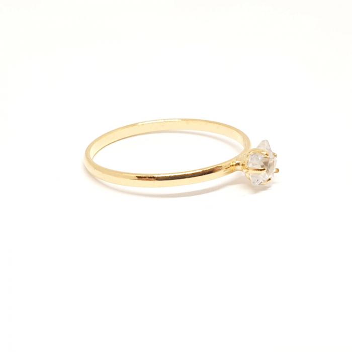 Inel placat cu aur Matter [2]