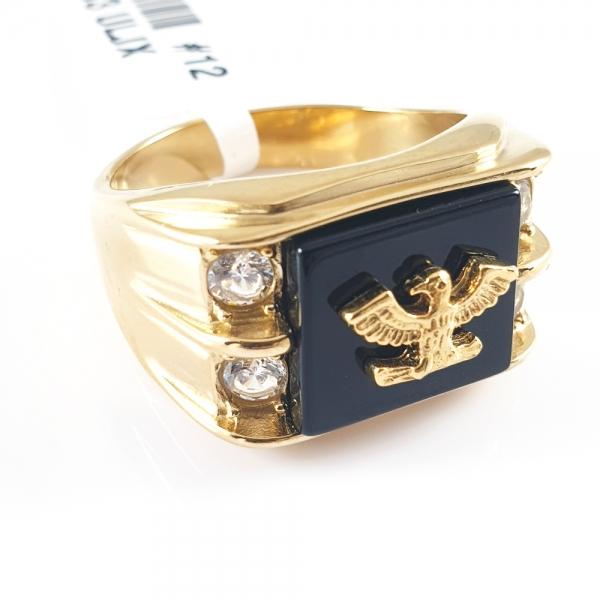 Inel placat cu aur SaraTremo [6]